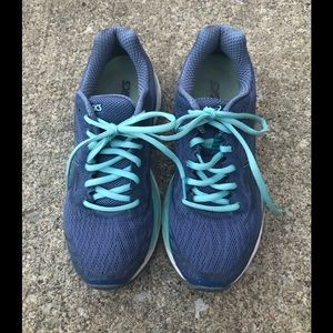 ASICS periwinkle Athletic Shoes
